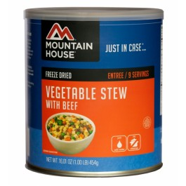 Mountain House #10 Can - Vegetable Stew with Beef