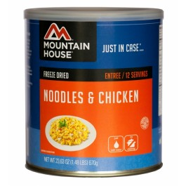 Mountain House #10 Can - Noodles & Chicken