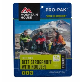 Mountain House - Beef Stroganoff - Pro-Pak Pouch