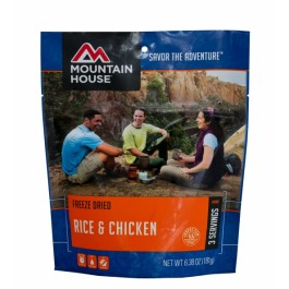 Mountain House - Chicken & Rice - Pouch