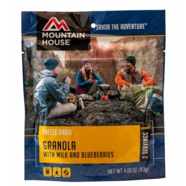 Mountain House - Granola with Blueberries & Milk - Pouch