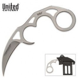 Undercover Sonic Karambit Silver with Sheath