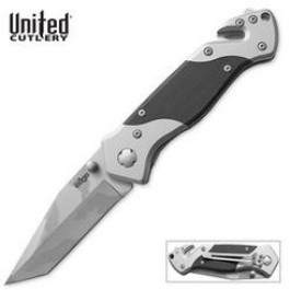 United Cutlery Edge Camo Rescue Pocket Knife