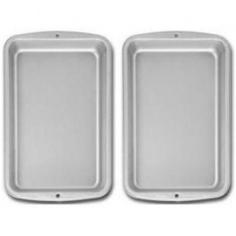Set of 2 Cookie Sheets /Brownie Pans