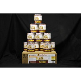 Survival Cave - Turkey - 12 cans 28oz each