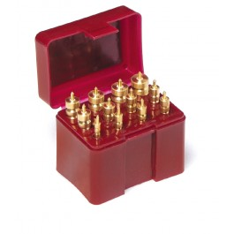 12 pc. Solid Brass Cleaning Jag Set