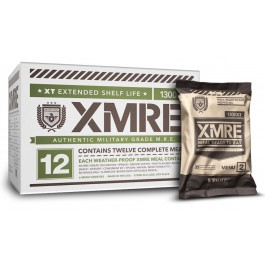 XMRE 1300XT - Military MRE Grade - Case of 12 Meals