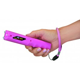 ZAP Stick – 800,000 Volts with Flashlight – pink