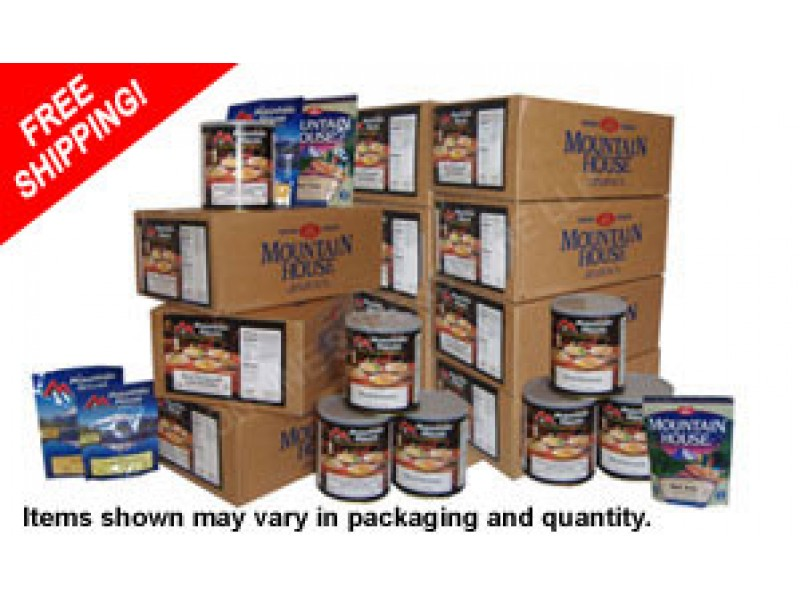 Dried Foods For Emergency Preparedness: Buy Mountain House 1-Year Freeze Dried Emergency Food
