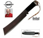 Gil Hibben IV Machete Knife & Leather Sheath