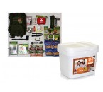 BackPack Bug-Out-Bag w Relief Food Breakfast meals bucket 84 serving