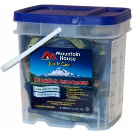 "Mountain House - ""Just in Case...""® Breakfast Assortment Bucket"