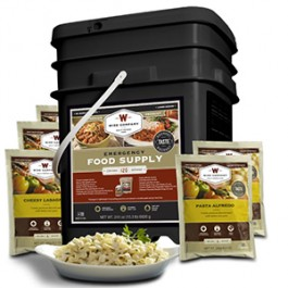 Wise Foods -120 Serving Entrée Only Package