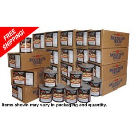 One Person | 1 Year | Premium Survival Food Kit Featuring Mountain House Freeze Dried Food