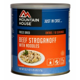 Mountain House #10 Can - Beef Stroganoff