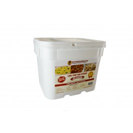 Survival Cave Food - 360 Serving Bucket