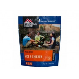 Mountain House - Freeze Dried Rice & Chicken