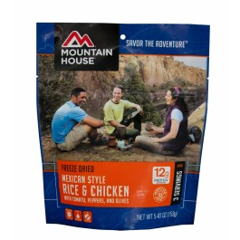 Mountain House - Freeze Dried Mexican Style Rice & Chicken