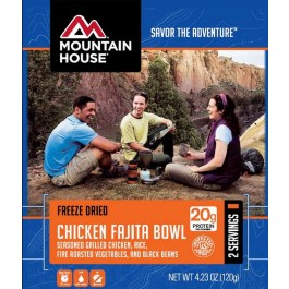 Mountain House Chicken Fajita