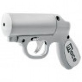 Mace Silver Pepper Gun w/LED light