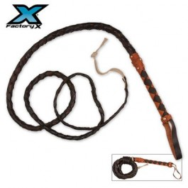 9 Foot Spanish Leather Bullwhip