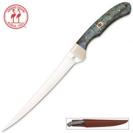 Kissing Crane Fillet Knife Abalone with Sheath