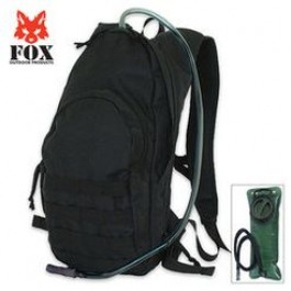 Fox Compact Hydration Backpack-BLACK