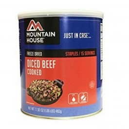 Mountain House #10 Can - Diced Beef