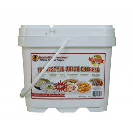 survival cave homestyle quick entrees bucket