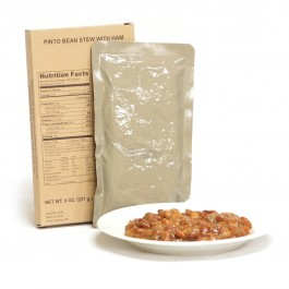 MRE Star - Entrée - Pinto Bean Stew with Ham