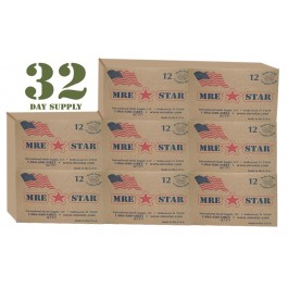 MRE 30+ day supply