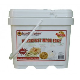 Survival Cave Food - Breakfast Made Easy Bucket