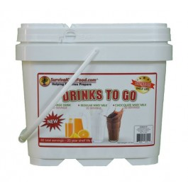 Survival Cave Food - Drink Bucket