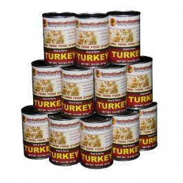 Survival Cave Food - Turkey case