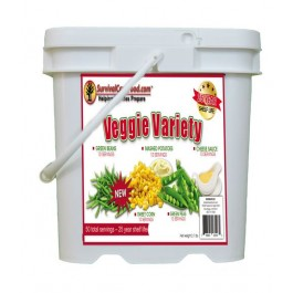 Survival Cave Food - Veggie Variety Bucket