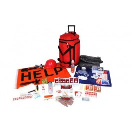 Wildfire Emergency Kit Red
