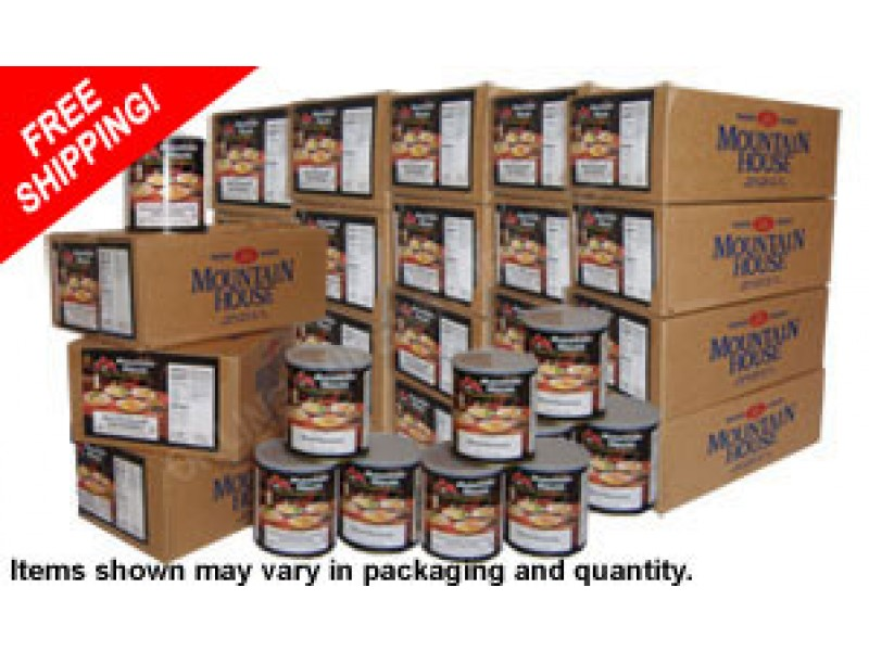 Dried Foods For Emergency Preparedness: Buy Mountain House Dehydrated Meals Which Are The Best