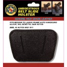 Belt Slide Holster – fits Small to medium frame auto hand guns