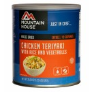 Mountain House #10 Can - Chicken Teriyaki with Rice