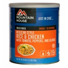 Mountain House #10 Can Mexican Chicken w/ Rice