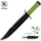 Apocalypse Survivor Sawback Survival Bowie with Sheath