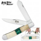 Ridge Runner Grizzly Folder Bone Green
