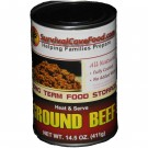 Survival Cave Ground Beef 14oz can
