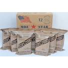 MRE Star-  Full Case of 12 MRE Meals (with Heaters)