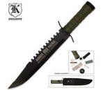 Survival Border Patrol Bowie with Sheath