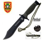 One Shot Bowie Knife and sheath