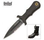 United Cutlery Combat Sub Commander Black Mini Boot Knife