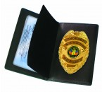 Concealed Carry Badge and Wallet