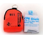 Disposable CPR Mask Keychain