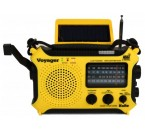 Solar and Crank Emergency Radio - Voyager KA500L